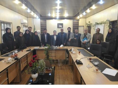 نشست نمایندگان سمنهای سلامت با فرماندار آبادان