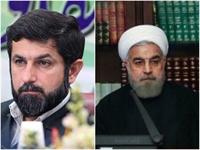 دیدار  استاندار خوزستان با روحانی