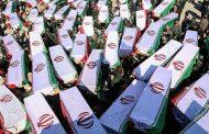 پیکر پاک ۱۶۷ شهید تازه تفحص شده به وطن باز میگردد.