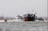 توقیف محموله کالای قاچاق در آبهای آبادان