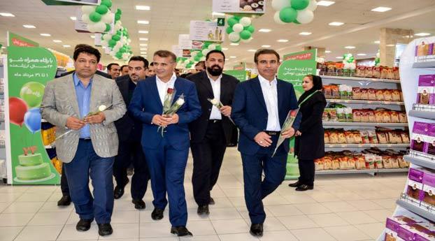 افتتاحیه فروشگاه رفاه در منطقه آزاد اروند