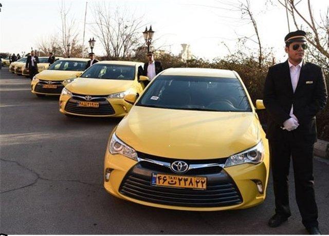 ورود تاکسیهای اروندی به ناوگان حمل و نقل