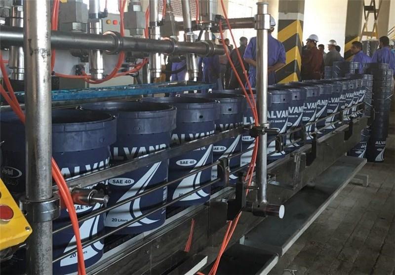 توليد روغن موتور ایرانول در آبادان