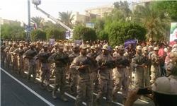رژه نیروهای مسلح درسال روز شکست حصر آبادان