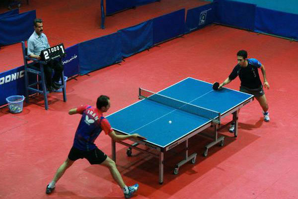 رقابت ۸ پینگ پنگ باز قمی در مسابقات نوجوانان کشور در آبادان