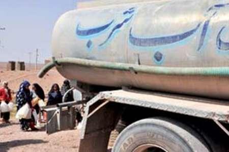 آبرسانی به پنج روستای اروندکنار با تانکر