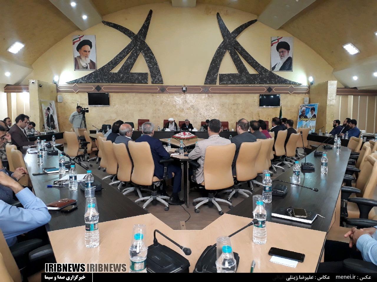 نشست امامان جمعه آبادان و خرمشهر با سایر مسئولان