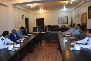 جلسه شورای ترافیک در فرمانداری آبادان برگزار شد.