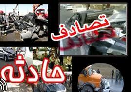 کشته در حادثه رانندگی بامداد امروز آبادان