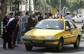 نرخ تاکسی های خطی راه آهن وفرودگاه اهواز